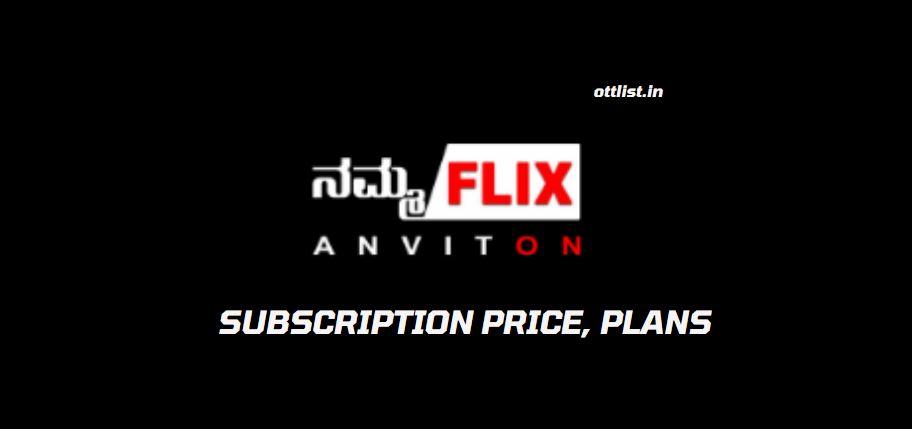 Namma Flix Kannada OTT App Subscription Plans
