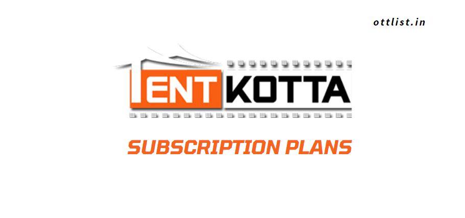 tentkotta subscription plans uk india